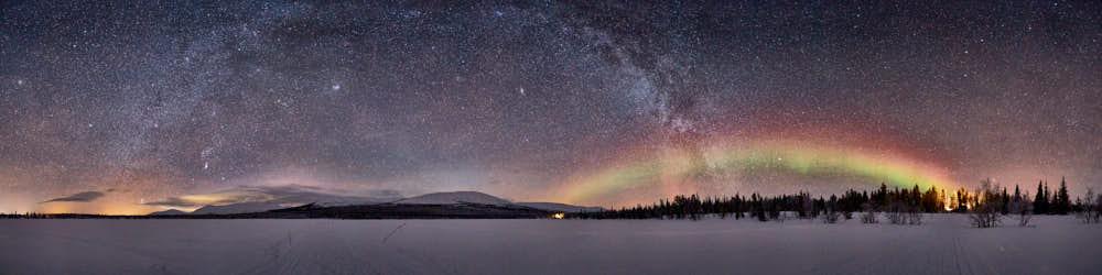 Nordlicht, Pallastunturi, Finnland, Lappland, Naturfotografie von olbor Oliver Borchert aus Schwerin