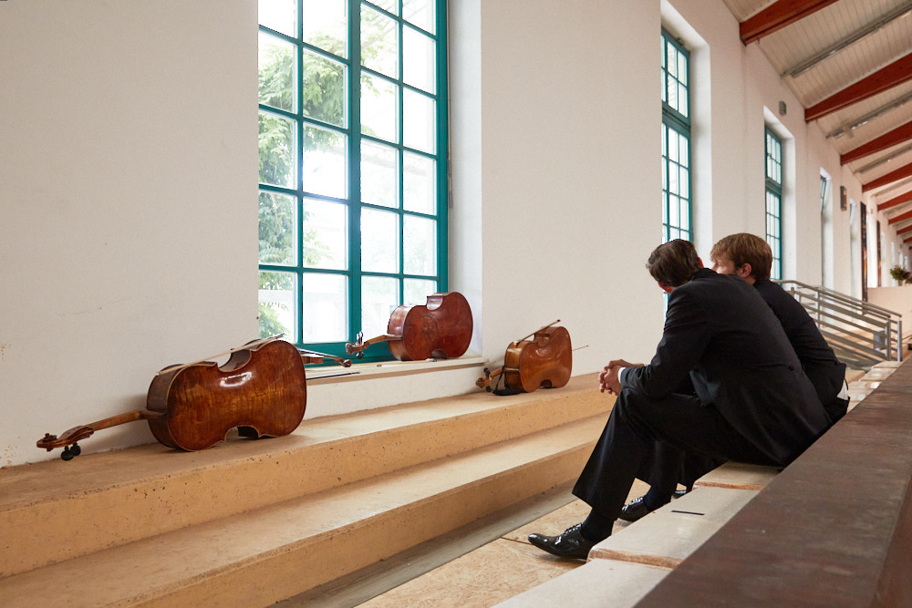 Konzertpause Foto von Oliver Borchert