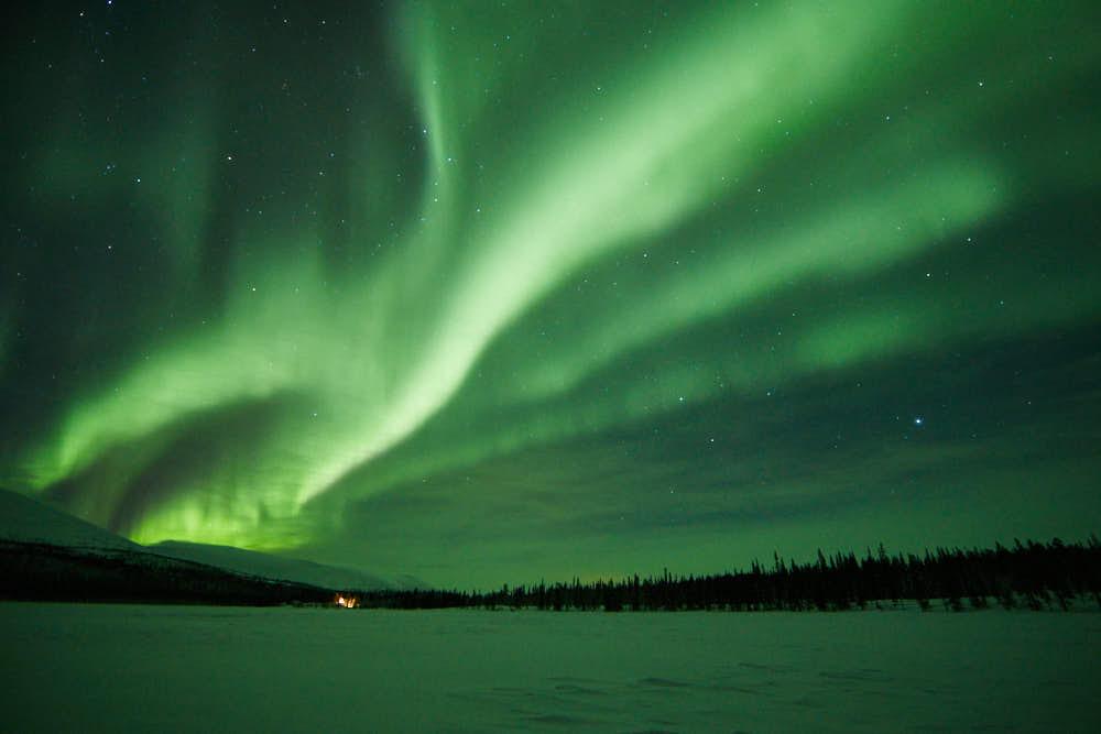 Nordlicht, Polarlicht, Finnland, Naturfotografie von olbor Oliver Borchert aus Schwerin