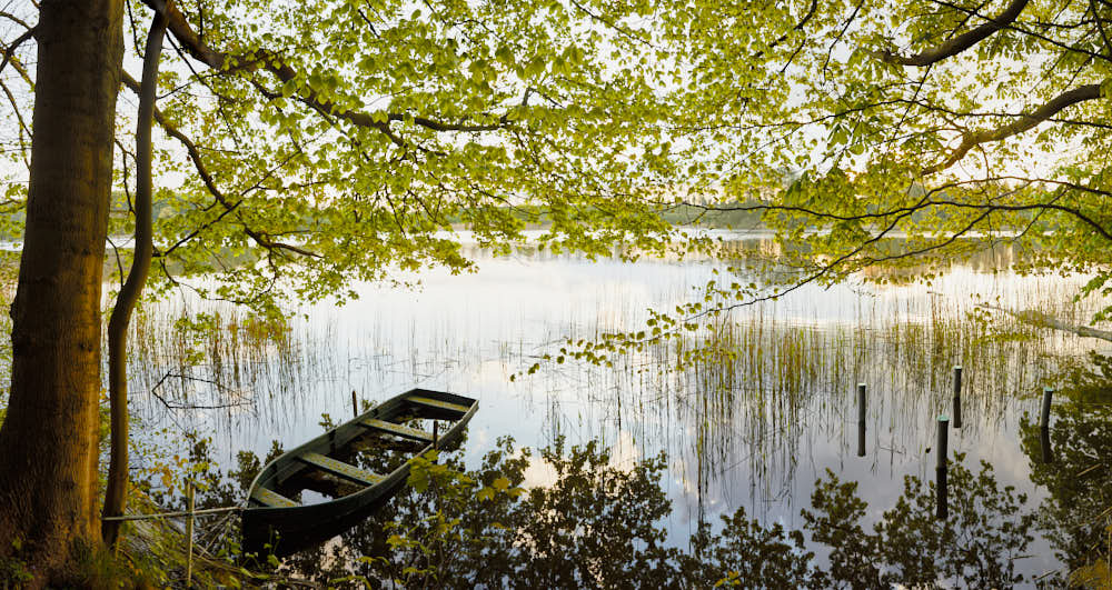 See, Ufer, Boot, Naturfotografie von olbor Oliver Borchert aus Schwerin